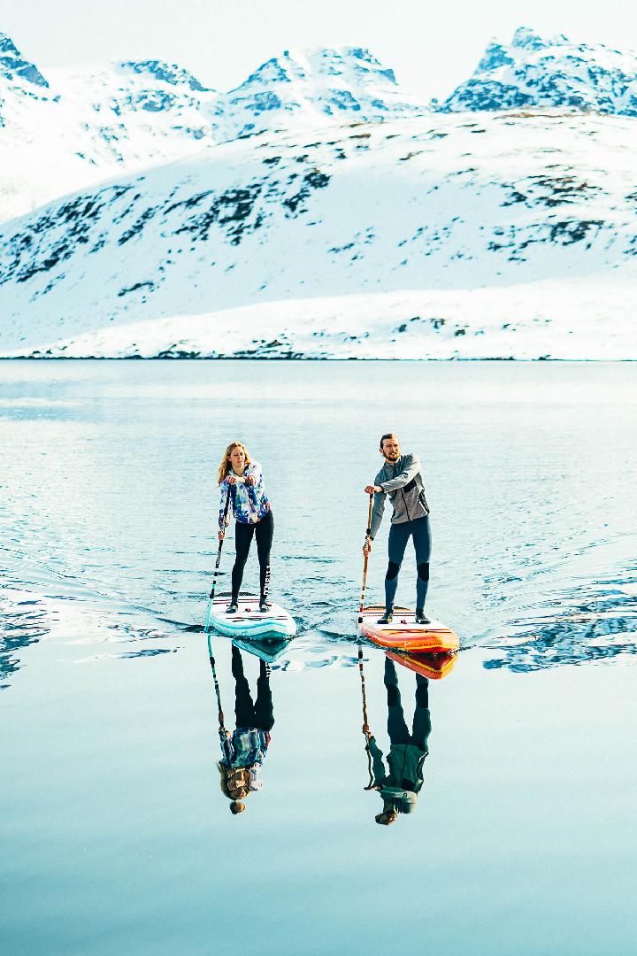 Lofoten Valentin Illichmann und Paulina Herpel Team O'Neill